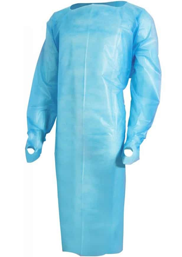 Disposable Polyethylene Isolation Gowns